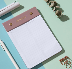 A5 Daily Planner To Do Pad Tear off to-do list  Productivity pad Everyday planne