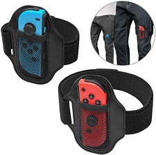 [2 Pack] Leg Strap for Nintendo Switch Ring Fit Adventure, Joy-Cons Controller