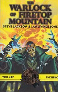 Fighting Fantasy:The Warlock of Firetop Mountain NEW Paperback Book