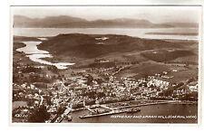 Rothesay - Real Photo Postcard c1920
