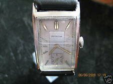SALE!!! Rarity 100% original rectangular stainless steel Zenith 8 3/4F watch