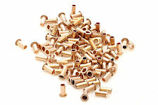200x best quality pcb copper via vias  through hole rivets . ID 0.8mm OD 1mm