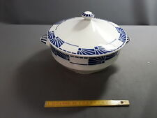 antigua Sopera de cerámica sarguemines dombasle french antigua