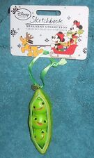 Disney Store Sketchbook Toy Story 3 Peas in a Pod Christmas Ornament. New. 2015.