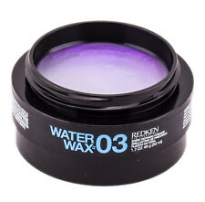 Redken Water Wax 03  Shine Defining Pomade 1.7 oz