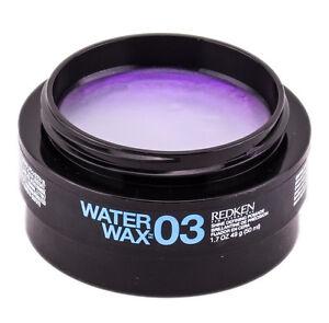 Redken Water Wax 03  Shine Defining Pomade 1.7 oz