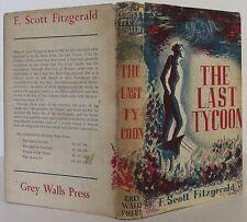 F.SCOTT FITZGERALD The Last Tycoon FIRST U.K. EDITION