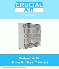 REPL Trion Air Filter 255649-102 Pleated Furnace Air Filters 20x25x5 MERV 8