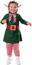 LIL' ELF TODDLER COSTUME Size 2-4 Santa Helper Christmas Family Parties   3-4A
