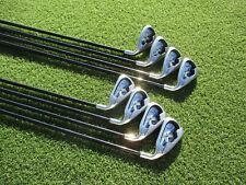 New listing Ladies Callaway X-18 Irons Callaway 45G L-Flex Graphite Shafts 4-SW RH VERY GOOD