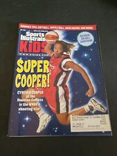 JULY 2000 CYNTHIA COOPER HOUSTON COMETS SPORTS ILLUSTRATED FOR KIDS EXCELLENT