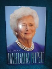 BARBARA BUSH A MEMOIR SPECIAL (HAND) SIGNED EDITION AUTOGRAPHED