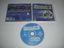 CHAMPIONSHIP MANAGER 3 Pc Cd Rom CD Cased - CM CM3 - Fast Post