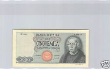 ITALIE 5 000 LIRES 20 JANVIER 1970 ALPHABET H.0088 PICK 98 c QUALITE !!!!!