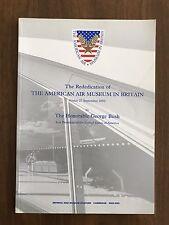 Rededication of THE AMERICAN AIR MUSEUM IN BRITAIN Vintage 2002