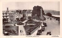 POSTCARD    DEVON  BARNSTAPLE   The  Square   RP