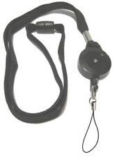 Carrete Retráctil Cordón de negro bucle fijo de nylon Inc con seguridad disidente