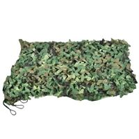 Hunting Camouflage Nets Woodland Camo Netting Blinds Great For Camping Sun E9G1