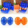 NewPortable Carry 2/6/12 Eggs Container Holder Storage Box Case Folding Plastic#