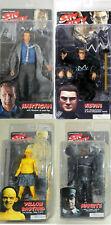 Sin City Set 4 Action Figure: Hartigan, Yellow bastard (Bastardo Giallo che r...