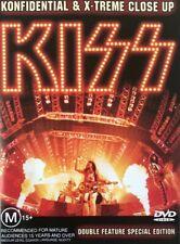 Kiss Konfidential & X-treme Close up DVD 90s Era M15 PAL Region 0