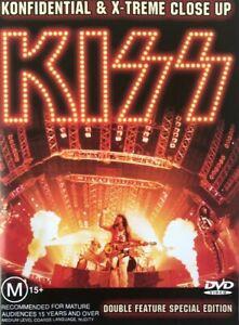 Kiss : Konfidential & X-treme Close Up DVD ( New)