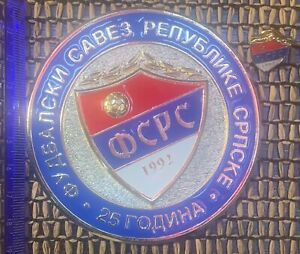 football federation of Serbia plaque and pin football Serbia