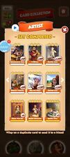 6 Cards from Artist Set Coin Master Cards Fastest Delivery