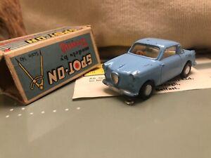 ORIGINAL VTG SPOT ON TRIANG GOGGOMOBIL SUPER Blue + Box VGC