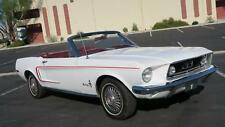 1968 Ford Mustang CONVERTIBLE J CODE 302 V8, P/S! POWER TOP!