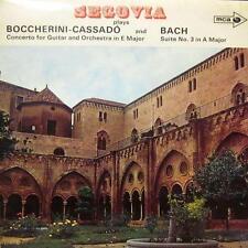 Boccherini-Cassado/Bach(Vinyl LP)Concerto For Guitar/Suite No.3-MCA-MUCS 125-UK-
