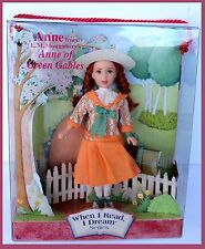 New Anne Of Green Gables Doll When I Read Dream Series L. M. Montgomery Book TV