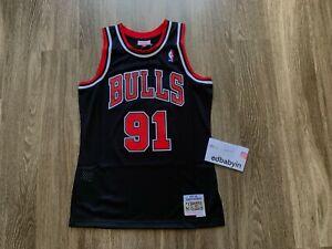 KMNF Basketball Jersey Men /— Dennis Rodman # 91/— Fabric Embroidered Swingman Basketball Jersey Sleeveless Jersey Suit