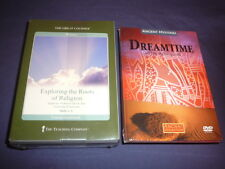 Teaching Co Great Courses DVDs   EXPLORING THE  ROOTS OF RELIGION    new + BONUS