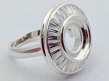 Authentic Kameleon 925 Silver The Showstopper Ring Ring Kr-35 Kr035 Size 8, New