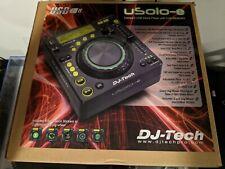 DJ TECH USOLO-E Table Top MP3 DJ Station USB input