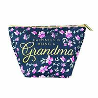 Mary Square Being a Grandma Mini Carryall Blue Floral