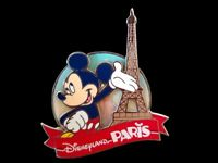 Disney DLP - Mickey Mouse Paris VI Eiffel Tower 3D Pin