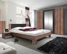 Schlafzimmer Komplettschlafzimmer Schlafzimmerset Monastery Eiche/schwarz 54208