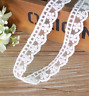 NEW 6Y lace Net embroidery flower Cotton Trim Wedding dress Ribbon Sewing Craft
