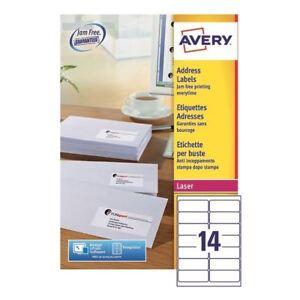 Avery Quickpeel L7163-500 Laser Address Labels (Pack of 7000) [AV00844]