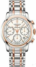 Longines Saint Imier Collection 18k Gold and Stainless steel Automatic Chronogra