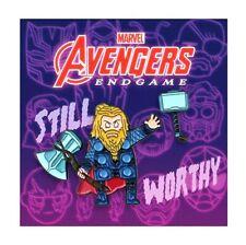 Thor [2 Pin Set] Mondo Marvel Avengers End Game Comic Book Memorabilia Fat Thor