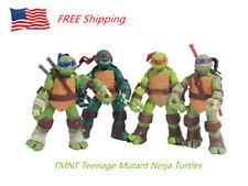 4 PCS TMNT Teenage Mutant Ninja Turtles Action Figures Toys Anime Movie Gift