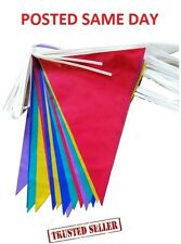 Bunting Flag Outdoor Street Garden Party Banner Decoration Wedding Fete Birthday