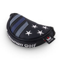 Star Small Golf Mini Putter Cover Half-Mallet Headcover Club Head Protector Blue