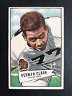 1952 Bowman Large Football Cards 41