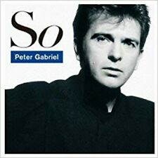 So By Peter Gabriel , Music CD