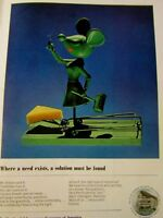 "1963 The Prudential  Better Mouse Trap-8.5 x 11"" Original Print Ad"