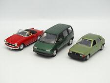 Diversas 1/43 - Lote de 3 : Fiat Ulysse - Talbot Horizon - Simca Oceane